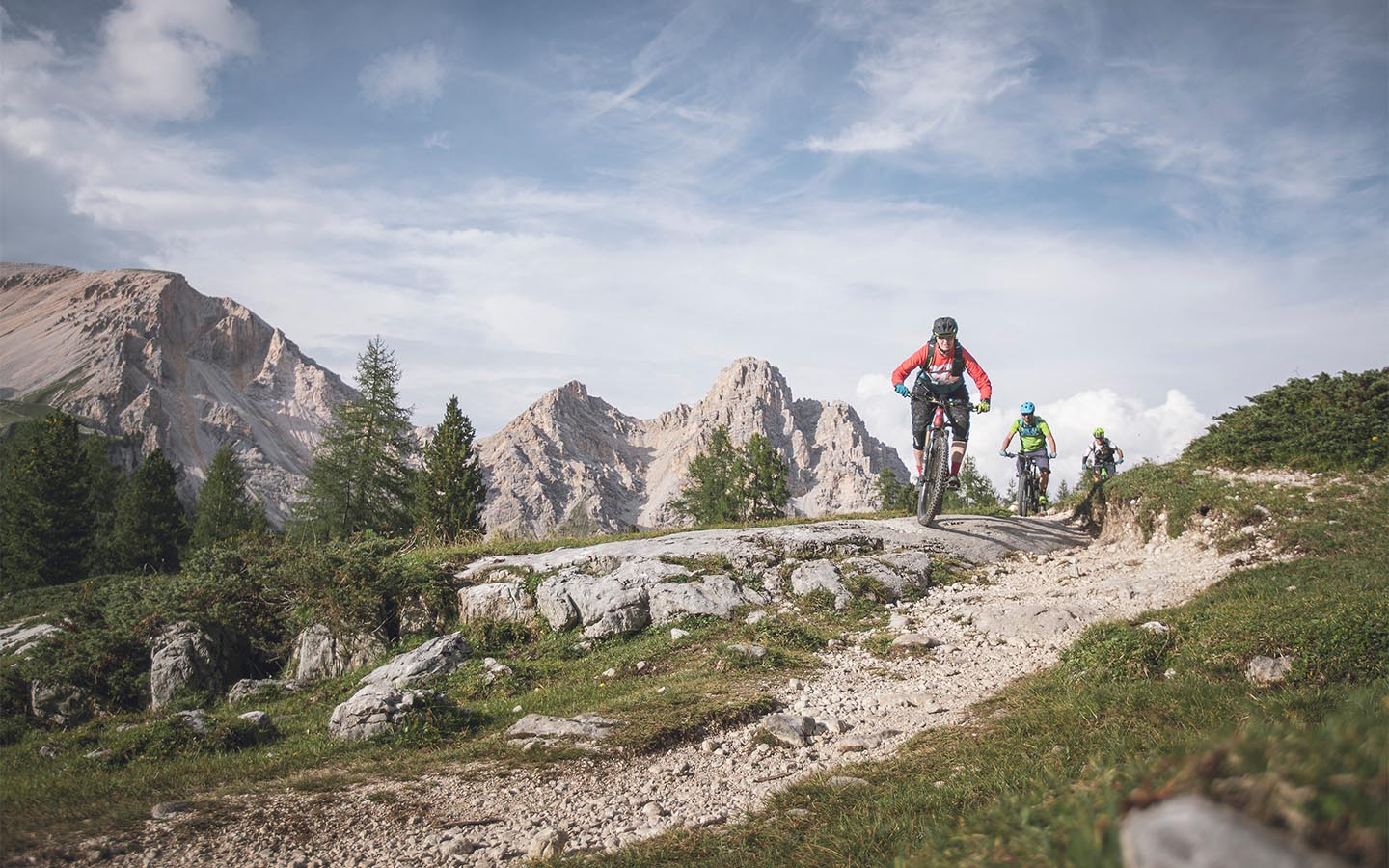 mountainbike Tour in Südtirol